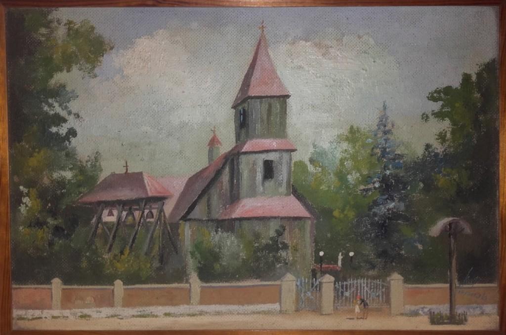 Stary kościół w Kuczkowie